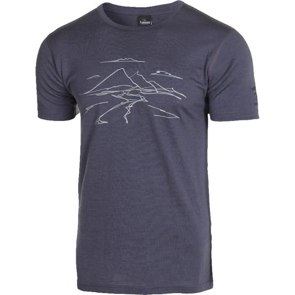 IVANHOE UW Agaton Mountain Man T-Shirt - Funktionsshirt steelblue - Bild 4