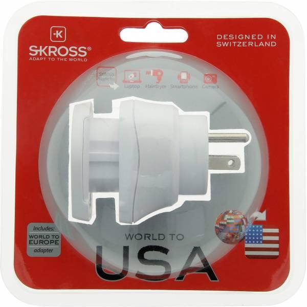 SKROSS Combo World to USA - Steckeradapter - Bild 6