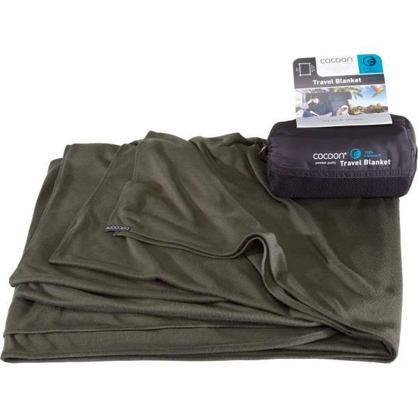 COCOON CoolMax Travel Blanket - Decke shadow green - Bild 1