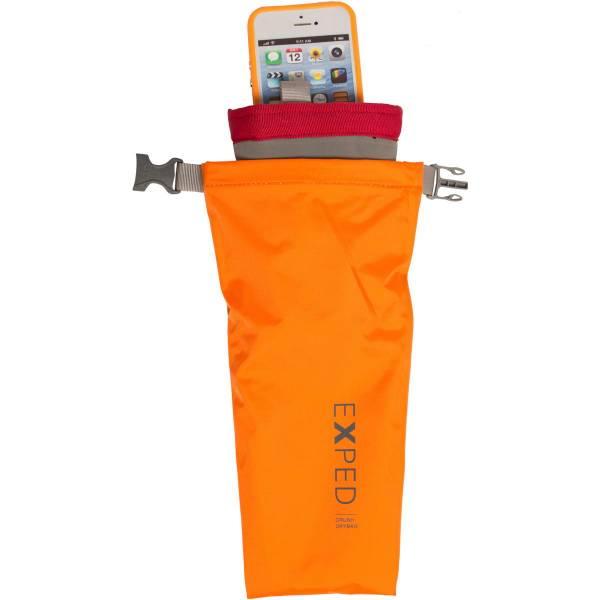 EXPED Crush Drybag 3XS - gepolsterter Packsack orange - Bild 2