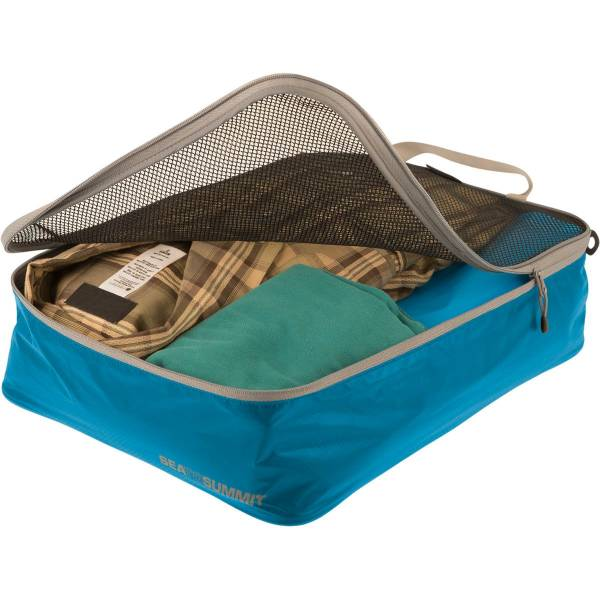 Sea to Summit TravellingLight™ Garment Mesh Bags Größe M blue-grey - Bild 1