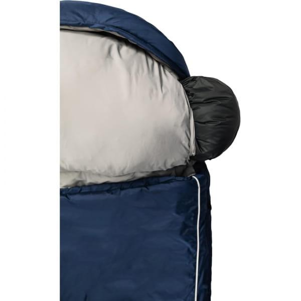 Grüezi Bag Biopod Wolle Murmeltier Comfort XXL - Deckenschlafsack night blue - Bild 12