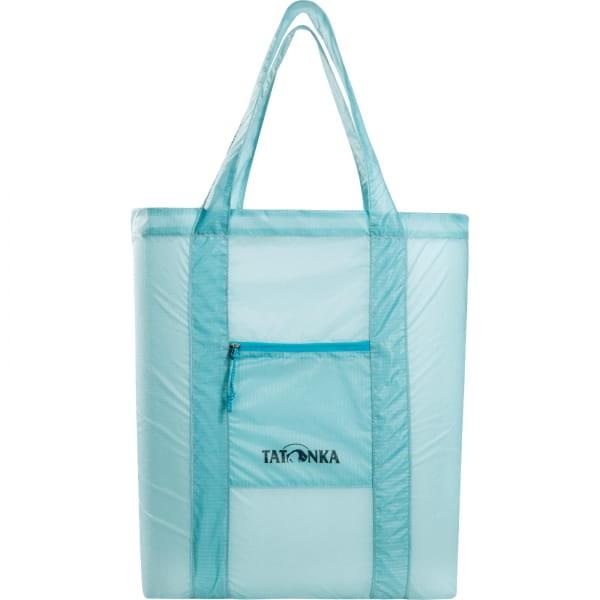 Tatonka SQZY Market Bag - faltbare Einkaufstasche light blue - Bild 11