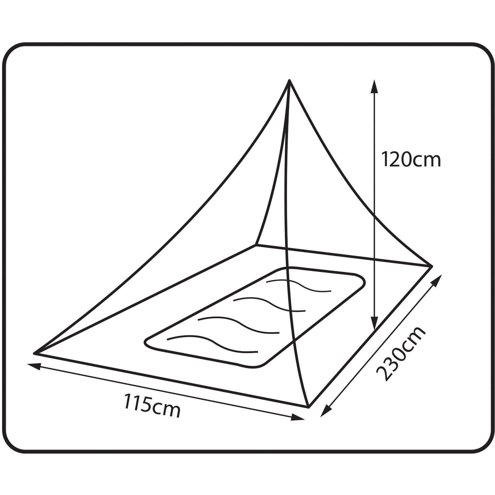 360° degrees Insect Net Single - Moskito-Netz - Bild 2