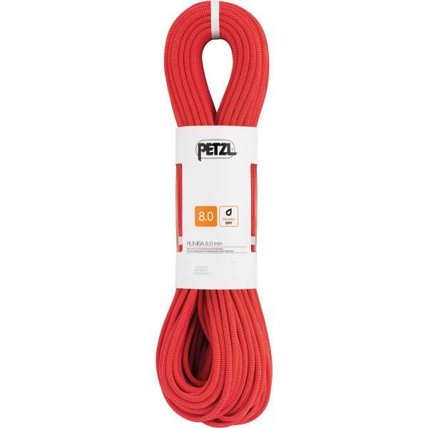 Petzl Rumba 8,0 mm - Halbseil rot - Bild 3