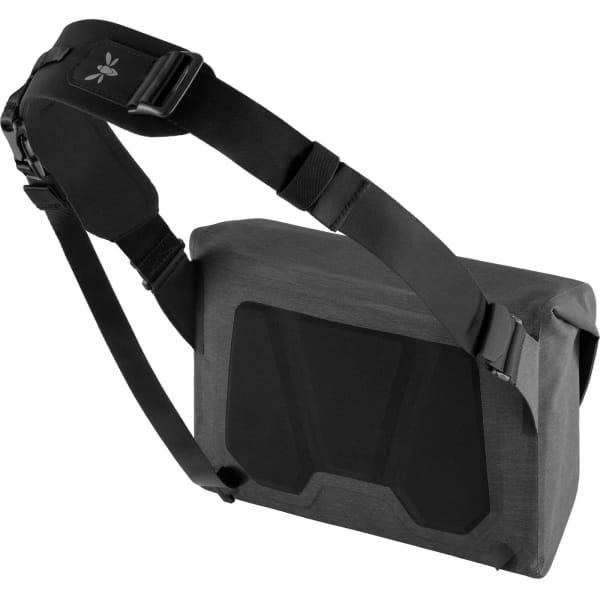 Apidura City Messenger S - 11 Zoll Kuriertasche dark grey melange-black - Bild 2