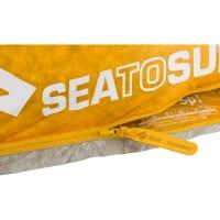 Vorschau: Sea to Summit Spark SpI - Schlafsack light grey-yellow - Bild 5