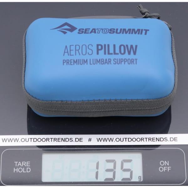 Sea to Summit Aeros Premium Lumbar Support Pillow - Lendenwirbelkissen navy - Bild 2