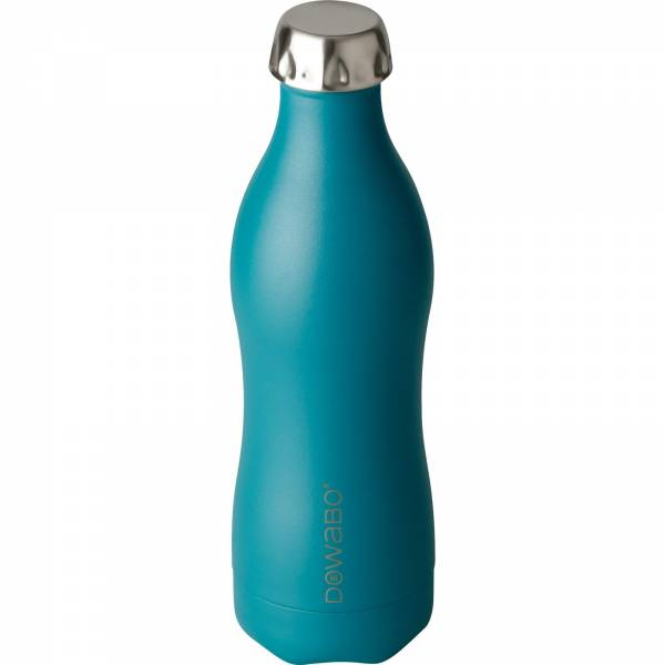 DOWaBO Earth 0,5 Liter - Double Wall Thermo-Trinkflasche petrol - Bild 5