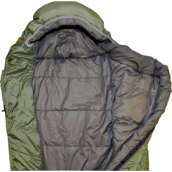 Grüezi Bag Biopod Wolle Survival  - Wollschlafsack greenery - Bild 2