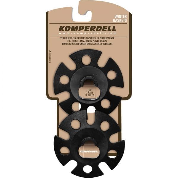 Komperdell Standard Winterteller - Stockteller schwarz - Bild 1