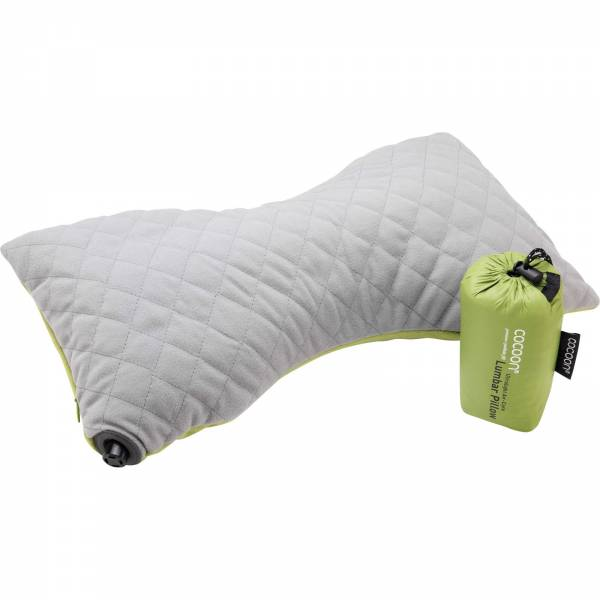 COCOON Air-Core Pillow Lumbar Support - Lendenwirbelkissen wasabi-grey - Bild 4