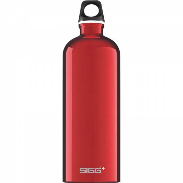 Sigg Traveller 1.0L - Alu-Trinkflasche red - Bild 3
