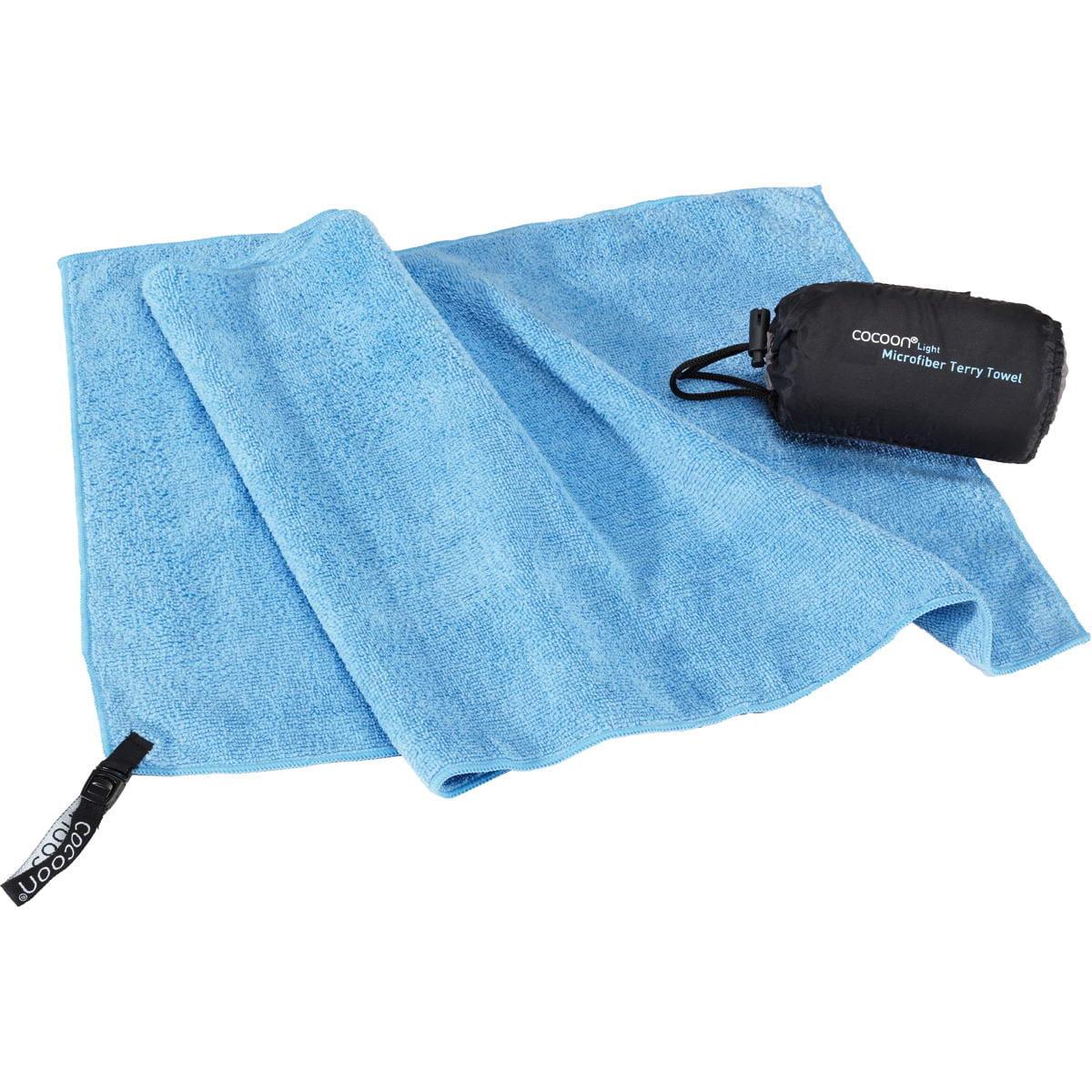 COCOON Terry Towel Light Gr. S - Wander-Handtuch lightblue - Bild 1