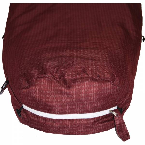 Grüezi Bag Feater - Beheizbares Schlafsack-Inlett darkred - Bild 12
