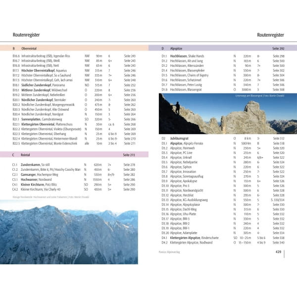 Panico Verlag Wetterstein Nord - Kletterführer Alpin - Bild 13