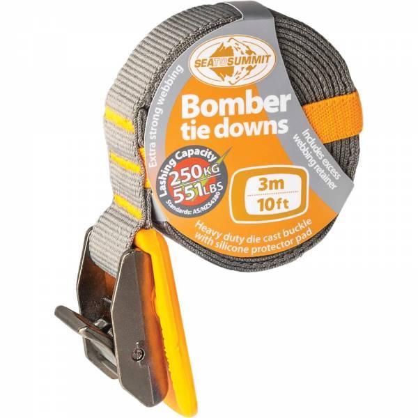 Sea to Summit Bomber Tie Down Strap - 3 m orange - Spanngurt - Bild 1