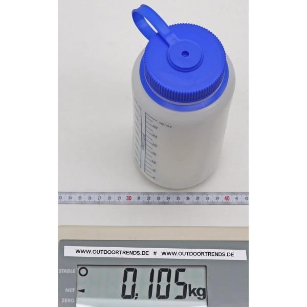 Nalgene Weithals HDPE Trinkflasche 1 Liter weiß - Bild 2