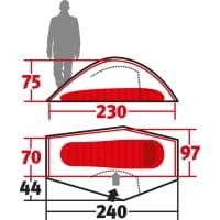 Vorschau: Wechsel Pathfinder Unlimited Line - 1-Personen-Zelt green - Bild 3