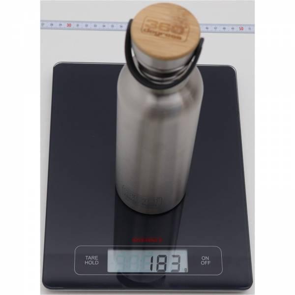 360 degrees Stainless Drink Bottle mit Bamboo Cap - 750 ml - Bild 5