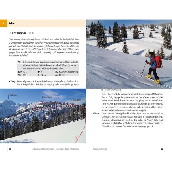 Panico Verlag Karwendel-Rofan-Wetterstein - Skitour Führer - Bild 5