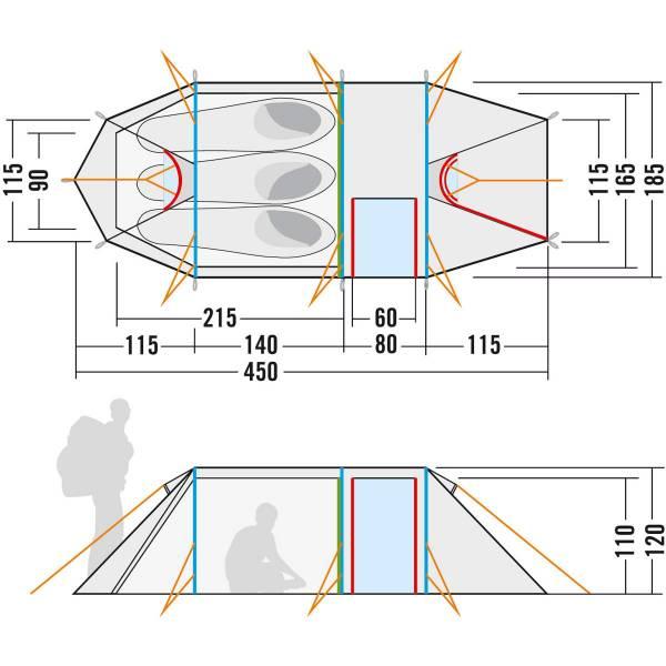 Tatonka Polar 3 - Drei-Personen-Zelt - Bild 8