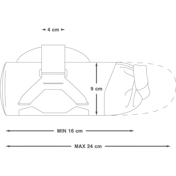 Apidura Backcountry Downtube Pack 1.8 L - Rahmentasche - Bild 3