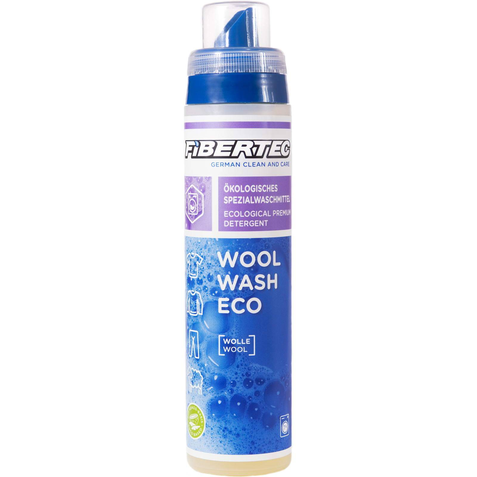 FIBERTEC Wool Wash Eco 250 ml - Spezial-Woll-Waschmittel - Bild 1