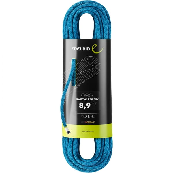 Edelrid Swift 48 Protect Pro Dry 8.9 - drei Normen Seil icemint - Bild 2