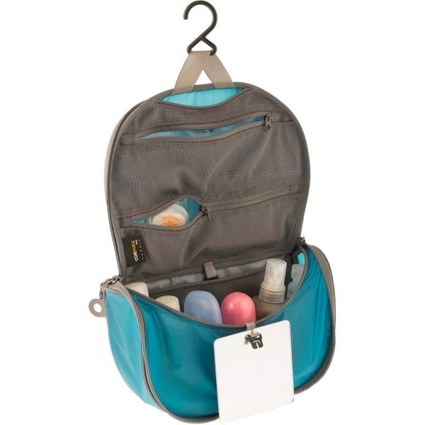 Sea to Summit TravellingLight™ Hanging Toiletry Bag S blue-grey - Bild 1