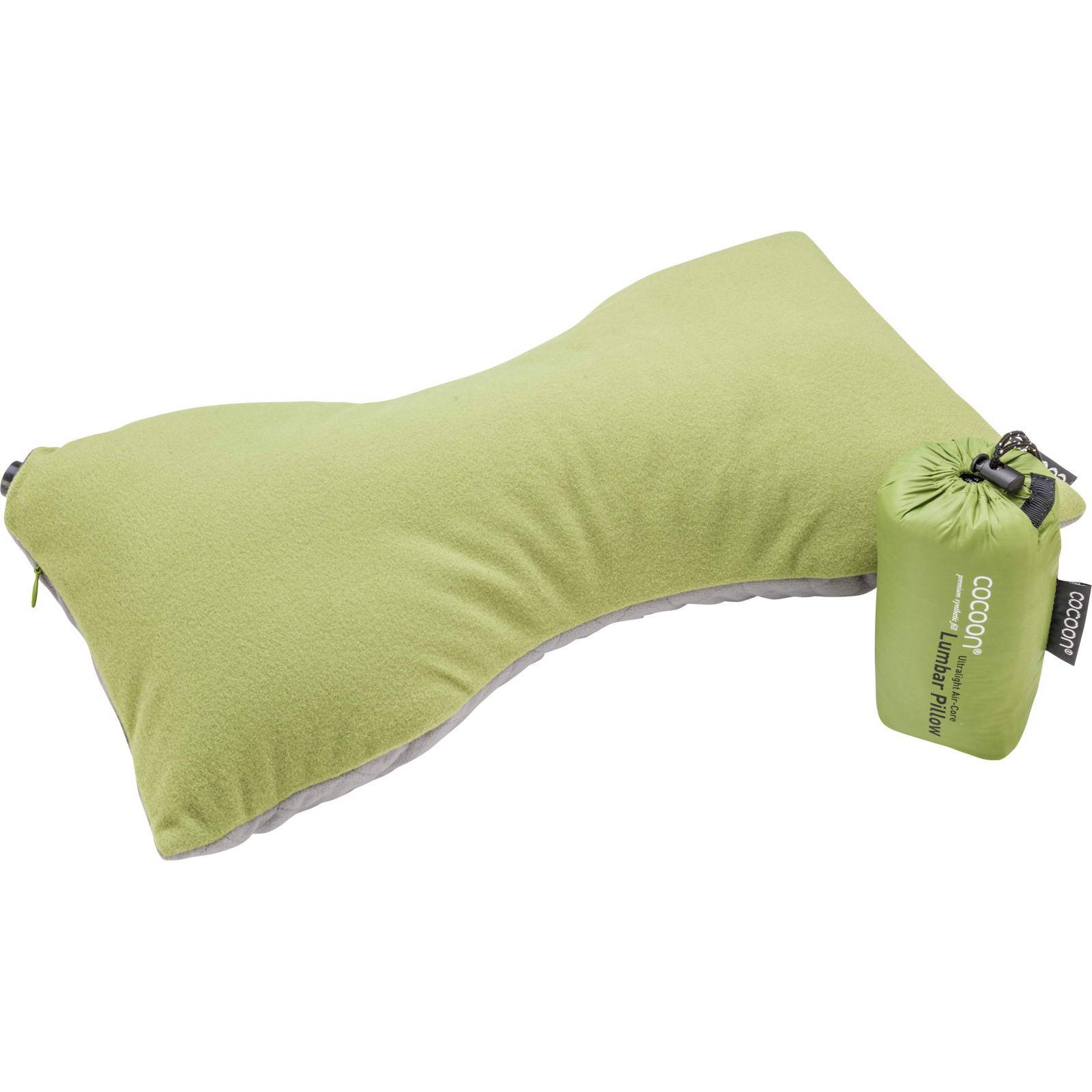 COCOON Air-Core Pillow Lumbar Support - Lendenwirbelkissen wasabi-grey - Bild 3