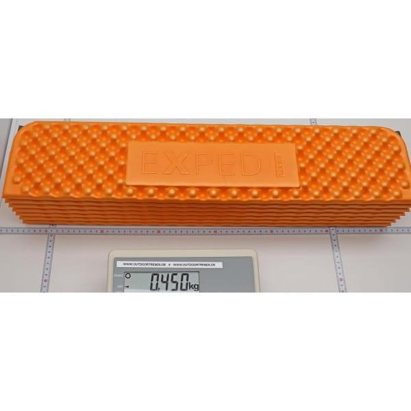 EXPED FlexMat - Isomatte apricot-anthracite - Bild 5