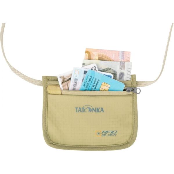 Tatonka Skin ID Pocket RFID B - Umhängebeutel natural - Bild 8