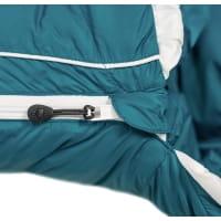 Vorschau: Grüezi Bag Biopod DownWool Subzero Comfort - Daunen- & Wollschlafsack autumn blue - Bild 9