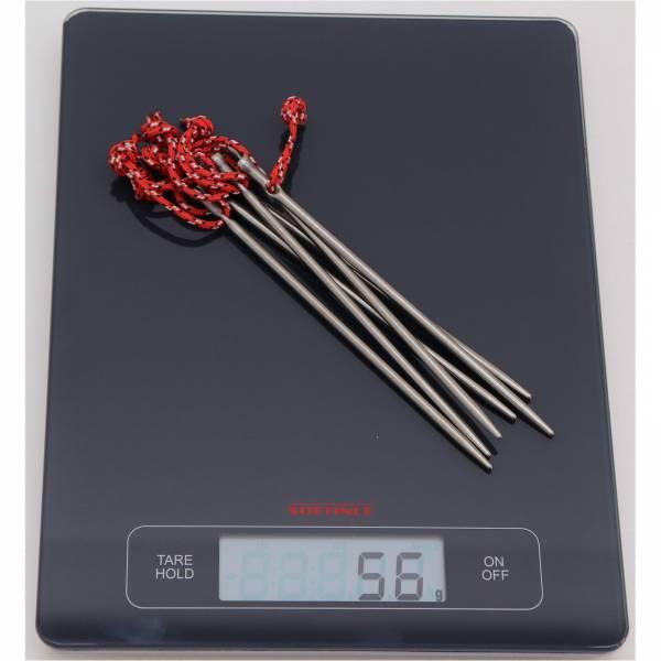 VARGO Titanium Nail Peg Ultralight - Titanium Heringe - Bild 2