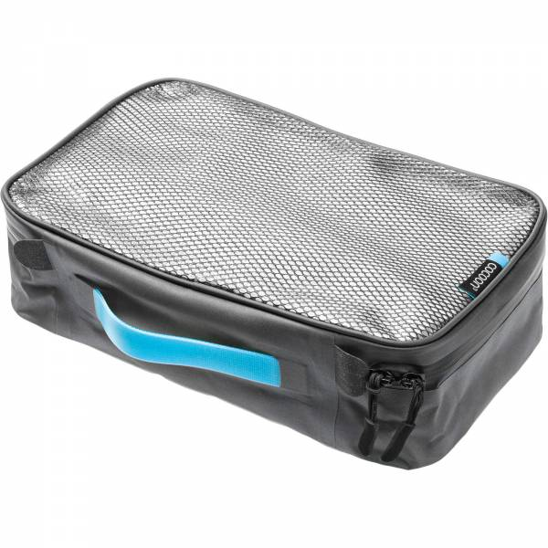 COCOON Packing Cube with Laminated Net Top M - Packtasche grey-blue - Bild 4