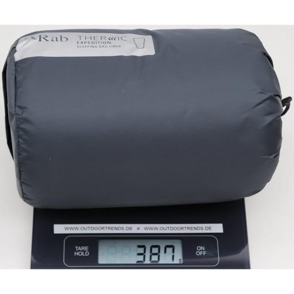 Rab Thermic Expedition Sleeping Bag Liner - Innenschlafsack ebony - Bild 3
