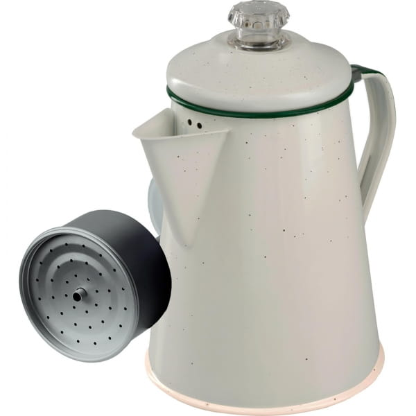 GSI Percolator 8 Cup - Enamel Kaffeekocher vintage - Bild 3