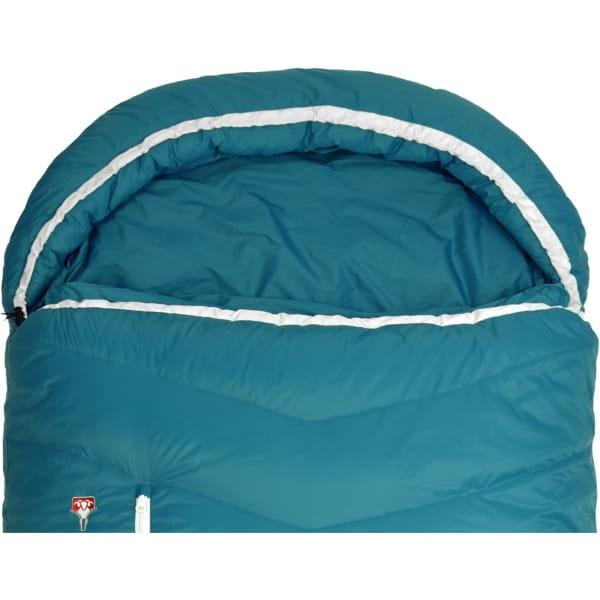 Grüezi Bag Biopod DownWool Subzero Comfort - Daunen- & Wollschlafsack autumn blue - Bild 6