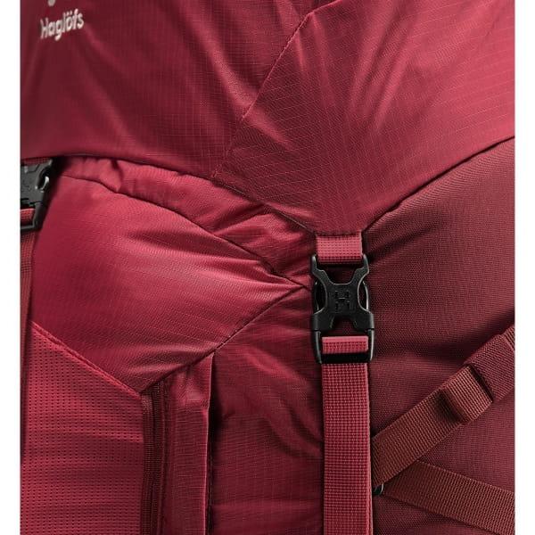 Haglöfs Ströva 65 - Trekkingrucksack brick red-light maroon red - Bild 8