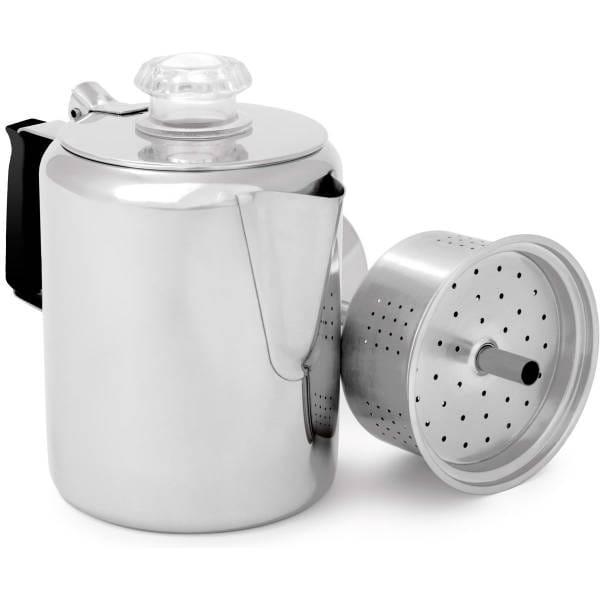 GSI Glacier Stainless 3 Cup Percolator - Kaffeekanne - Bild 1