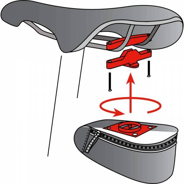 VAUDE Twist attachment for saddle bag - Satteltaschenhalterung - Bild 3