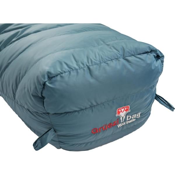 Grüezi Bag Biopod Down Hybrid Ice Cold - Daunen- & Wollschlafsack platin grey - Bild 11