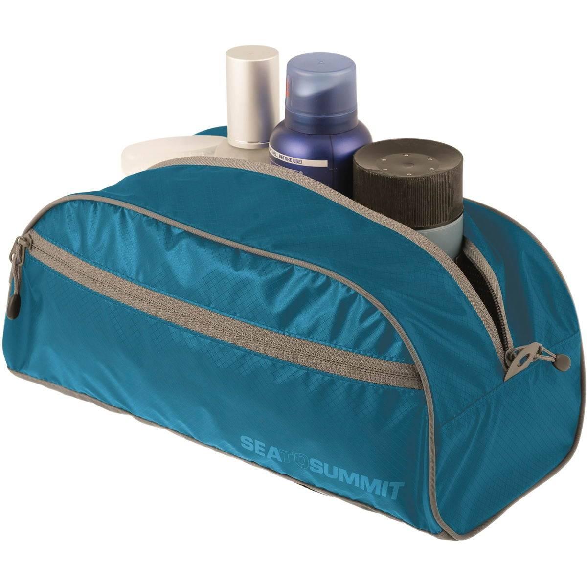 Sea to Summit TravellingLight Toiletry Bag L - Kulturbeutel blue-grey - Bild 1