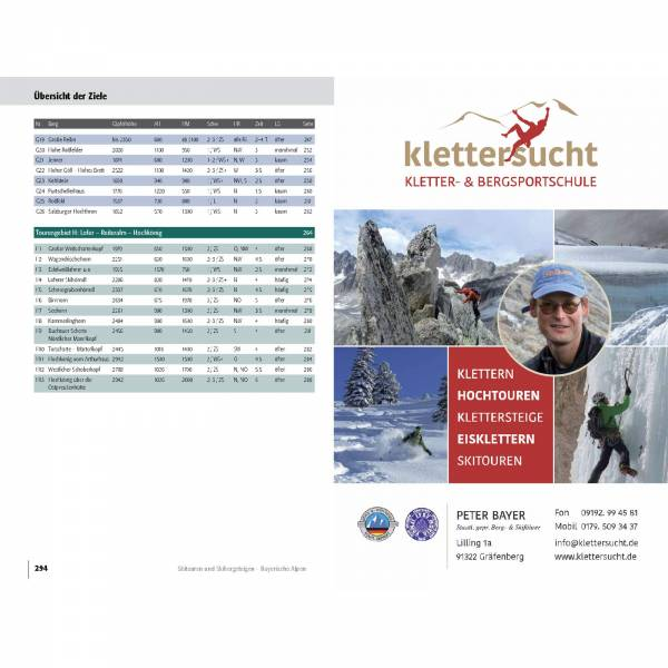 Panico Verlag Bayerischen Alpen - Skitourenführer - Bild 11