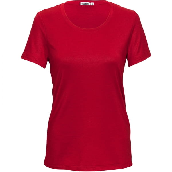 PALGERO Damen SeaCell-Merino Birta Kurzarmshirt rot - Bild 3