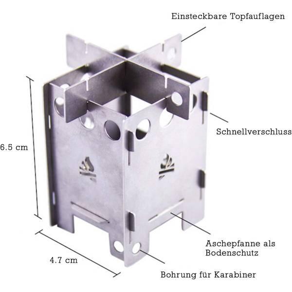 bushcraft essentials EDCBOX - Mikrokocher - Bild 1