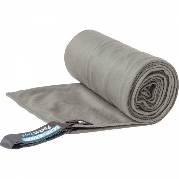 Sea to Summit Pocket Towel M - Funktions-Handtuch grey - Bild 1