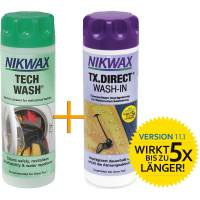 Nikwax Tech Wash + TX.Direct - Vorteilspack