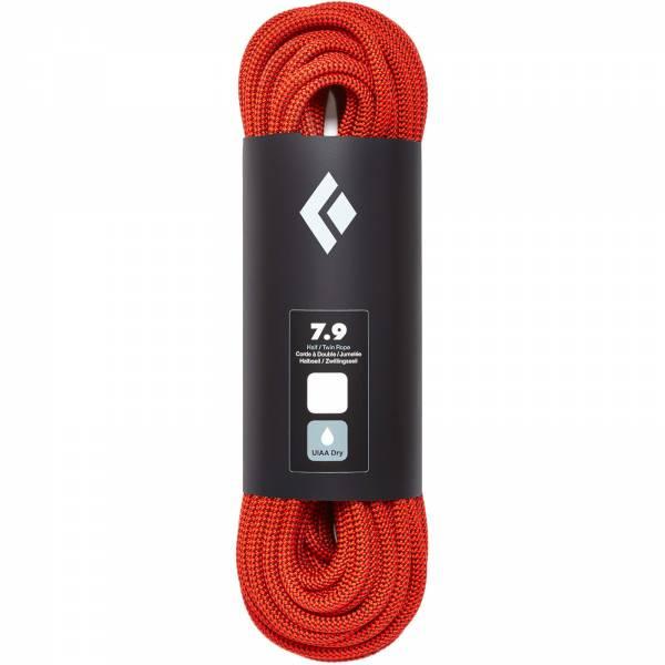 Black Diamond 7.9 Rope Dry - Halbseil orange - Bild 1